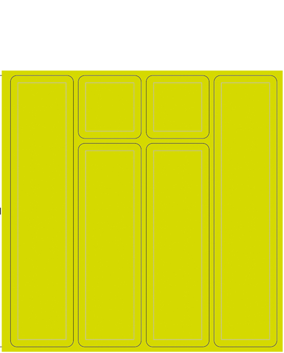 Strips small yellow